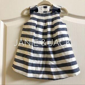 Janie and Jack striped dress